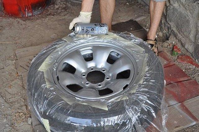 Окраска дисков: как и чем покрасить колесные диски на авто?