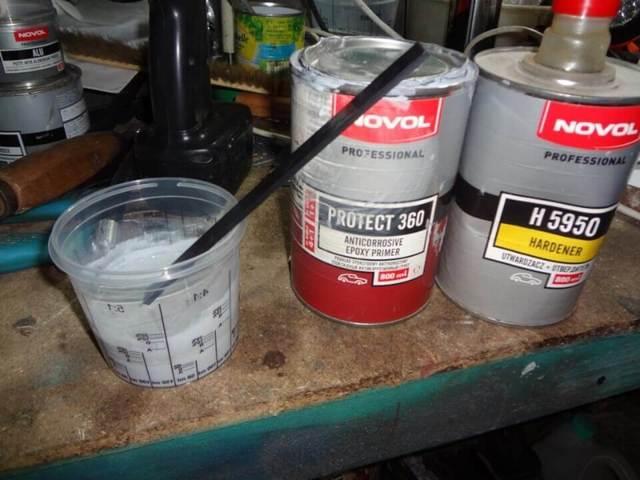 Грунтовка для авто: подготовка автомобиля и грунтование металла