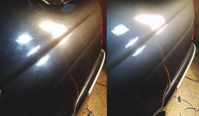 Покрытие и полировка автомобиля жидким стеклом своими руками